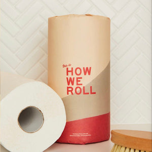 100% Bamboo 2 Ply Double Length Paper Towel - 6 Rolls