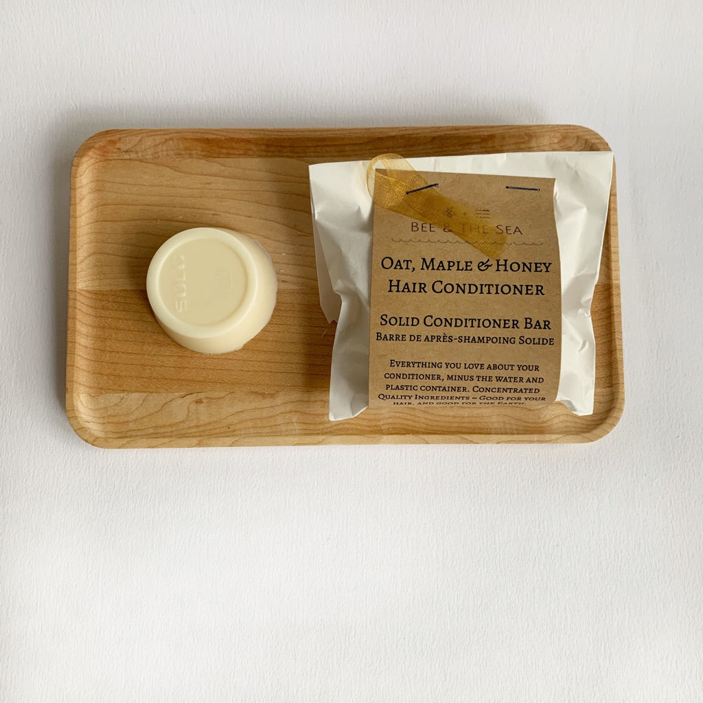Oat, Maple, & Honey Solid Conditioner Bar