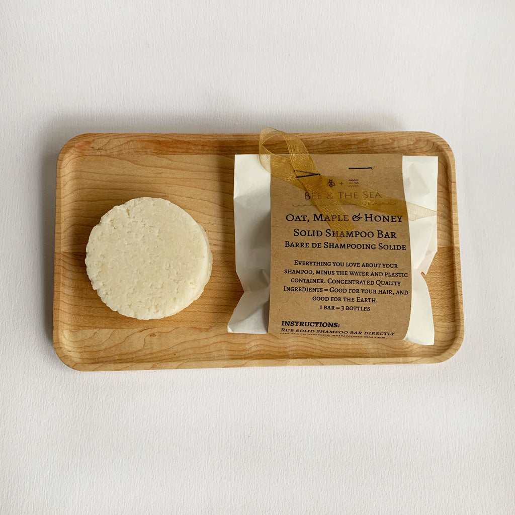 Oat, Maple, & Honey Solid Shampoo Bars