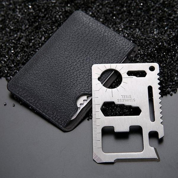 Stainless Steel Credit Card Tool