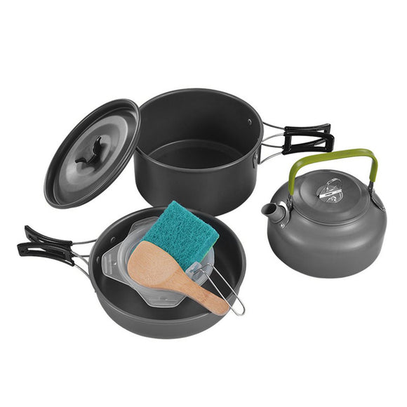 Alumium Cooking Set