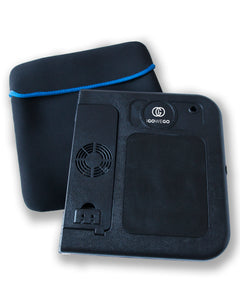 Oversized Laptop Computer Carrying Case - Also fits Portable Laptop Desk by Igowego