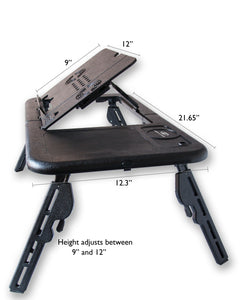 Portable Laptop Desk/Table/Stand with Bonus Carry Case