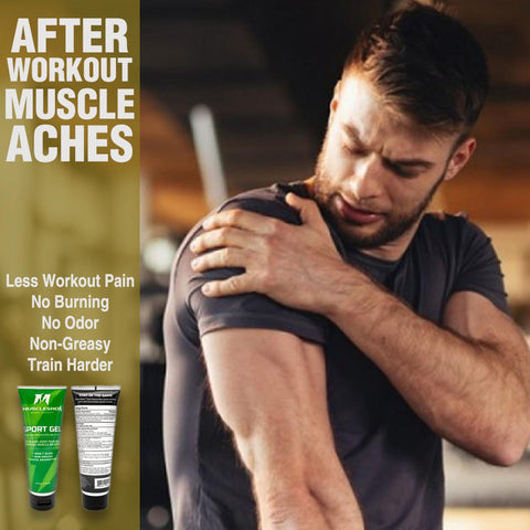Pain Relief Sport Gel for Muscles and Joints- 4oz