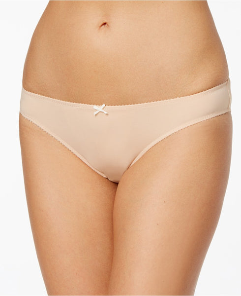 Heidi by Heidi Klum Smooth Microfiber Bikini H30-1 Toasted AlmondPristine- Nude M