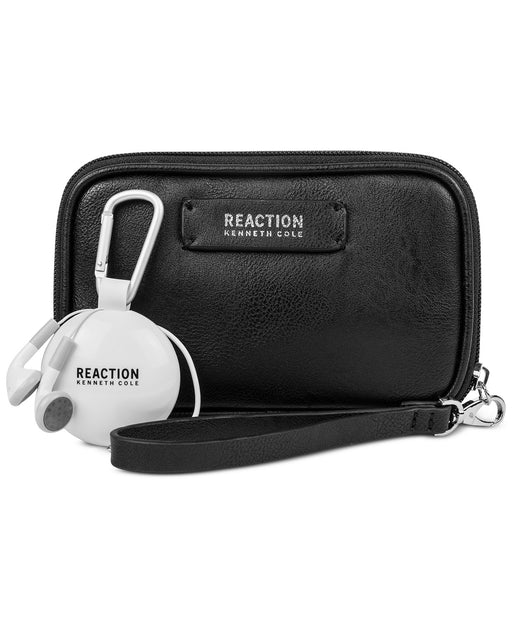 Kenneth Cole Reaction Take Charge Wristlet with Retr Geometric