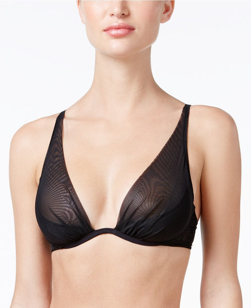 Heidi Klum Intimates An Angel Kiss Sheer Bra H237-1 Black 36D