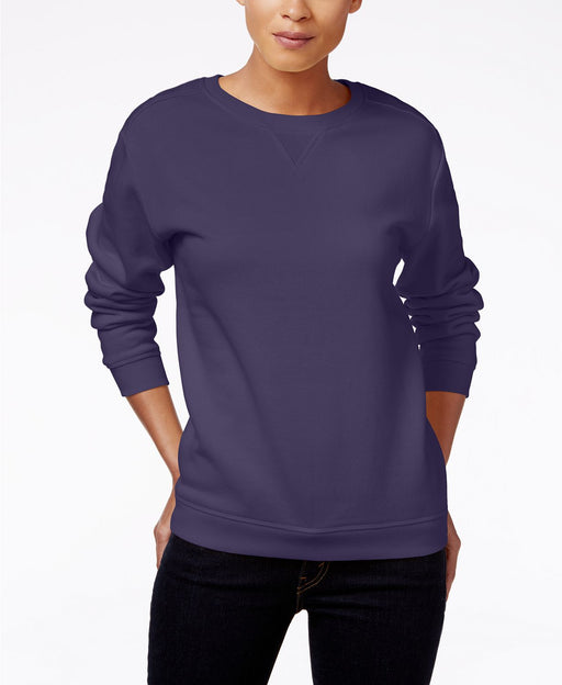 Karen Scott Active Sweatshirt Cassis M