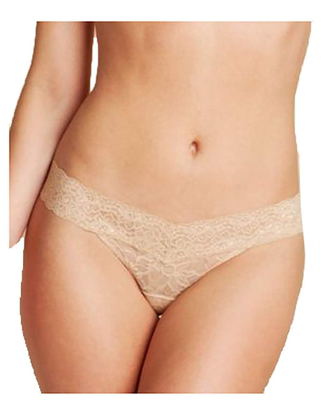 Heidi by Heidi Klum Stretch Keyhole Bikini H30-117 Toasted Almond- Nude 01 L