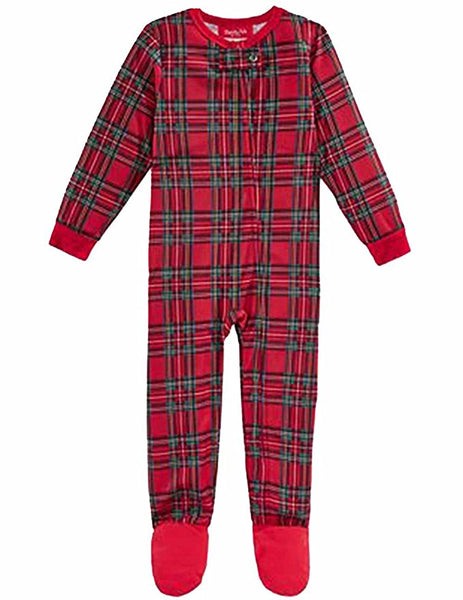 Family Pajamas Baby Boys Or Baby Girls Brin Brinkley Plaid 2T-3T