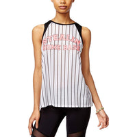 Material Girl Juniors Graphic Muscle T-Shirt Stealing Home M