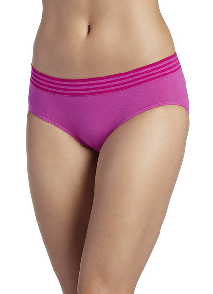 Jockey Cotton Seamless High-Cut Brief Formation Fuschia 8