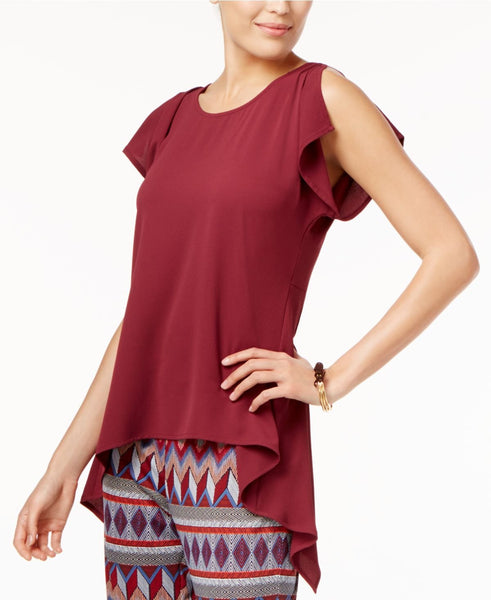 Cable Gauge Asymmetrical Top Burgundy XL