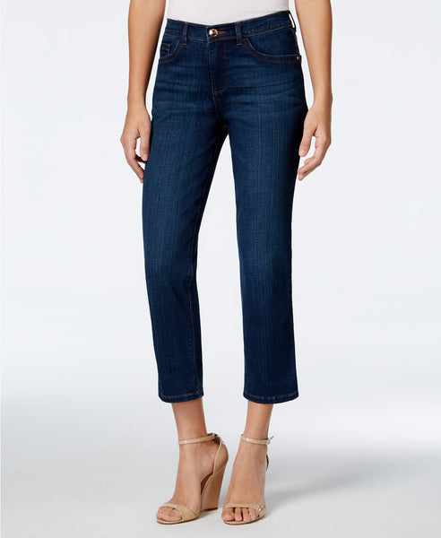 Lee Platinum Cameron Cropped Jeans Waterfall 8