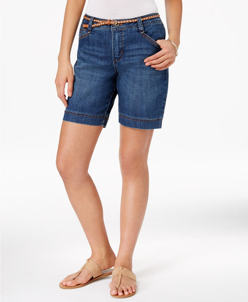 Lee Platinum Georgia Belted Shorts Railroad 8