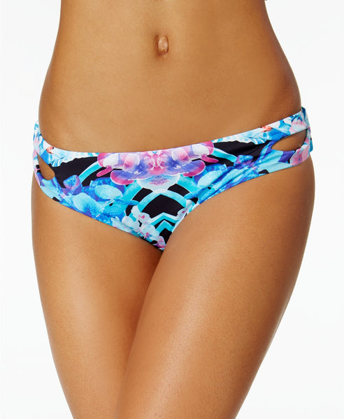Bar III Hot Tropic Keyhole Hipster Bik Multi L