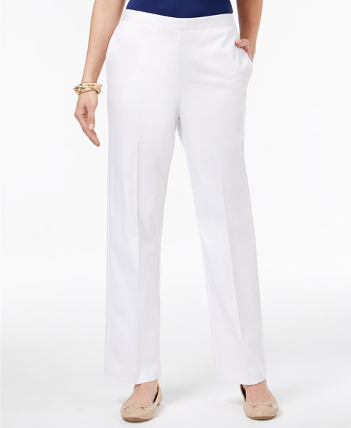 Alfred Dunner Pull-On Pants Cobalt 16
