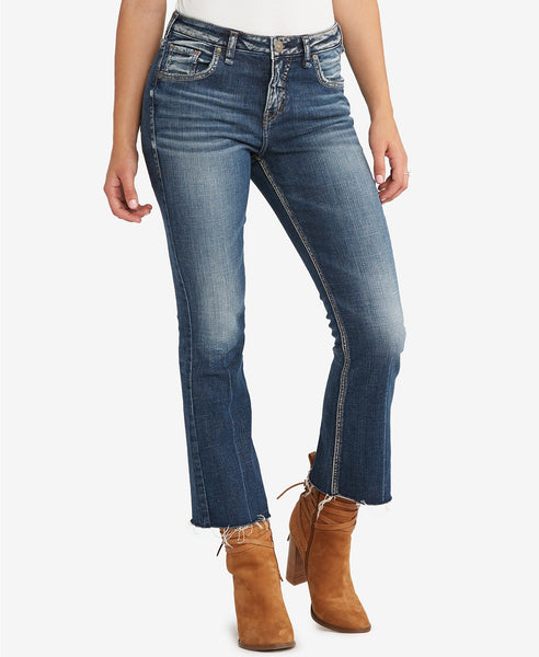 Silver Jeans Co. Izzy Flare-Leg Jeans Indigo 32S