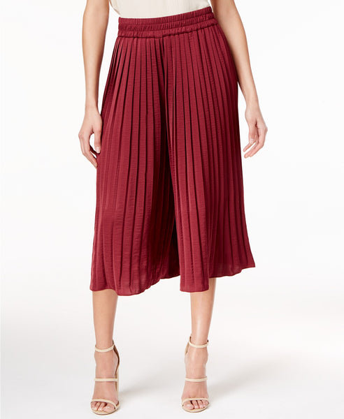 Olivia Grace Pleated Culotte Pants Evening Blue XS