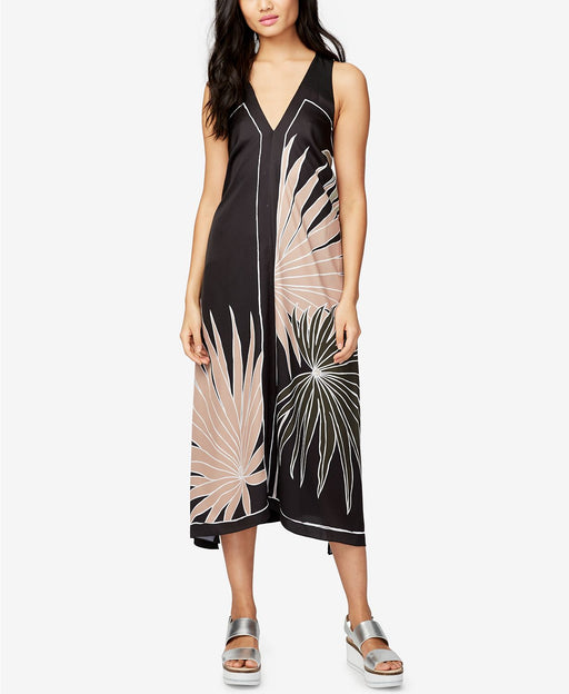 RACHEL Rachel Roy Printed Maxi Dress Black XS