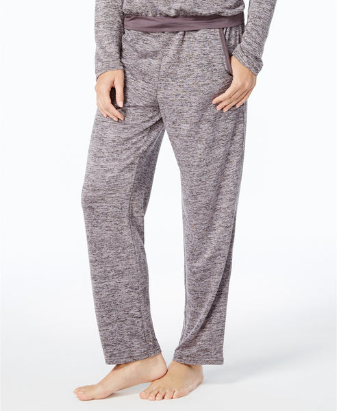 Alfani French Terry Pajama Pants, Cre Steel Heather XL