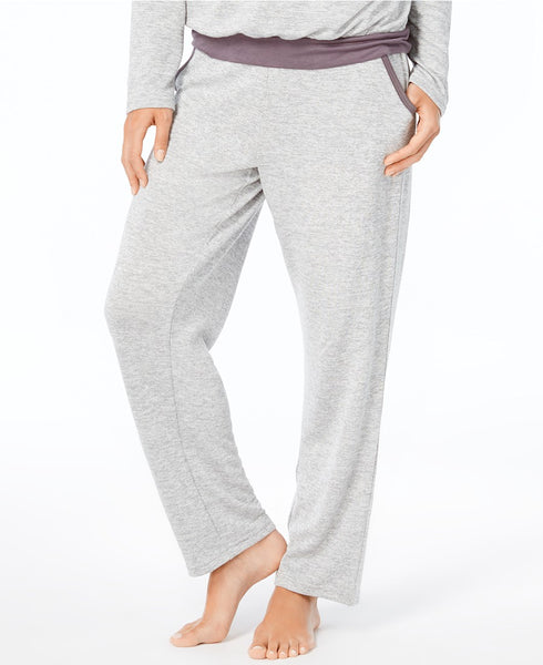 Alfani French Terry Pajama Pants, Cre Light Heather XL