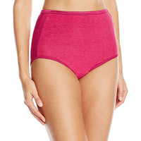 Vanity Fair Women's Illumination Brief Panty 13109, Pomegranate, Large/7