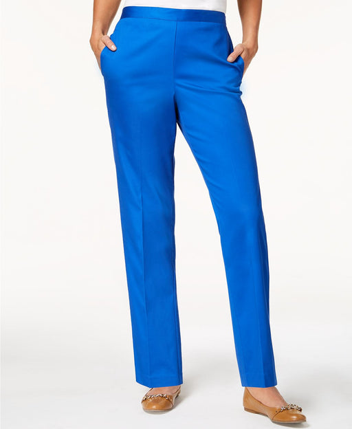 Alfred Dunner Upper East Side Straight-Leg P Cobalt 18
