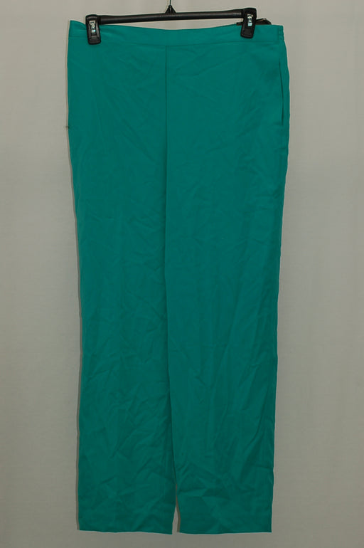 Alfred Dunner Pull-On Straight-Leg Pants Jade 16