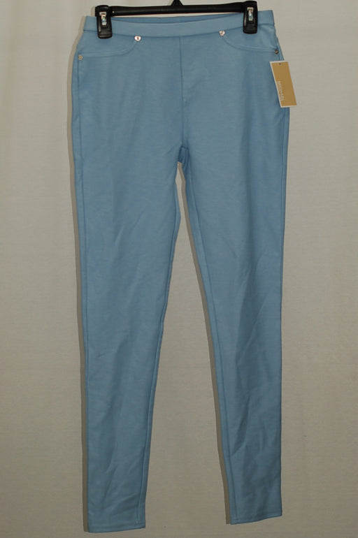 Michael Kors Stretch Twill Leggings Cloud L