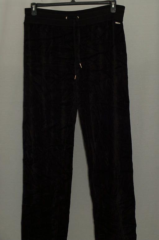 Calvin Klein Velour Jogger Pants Black XL