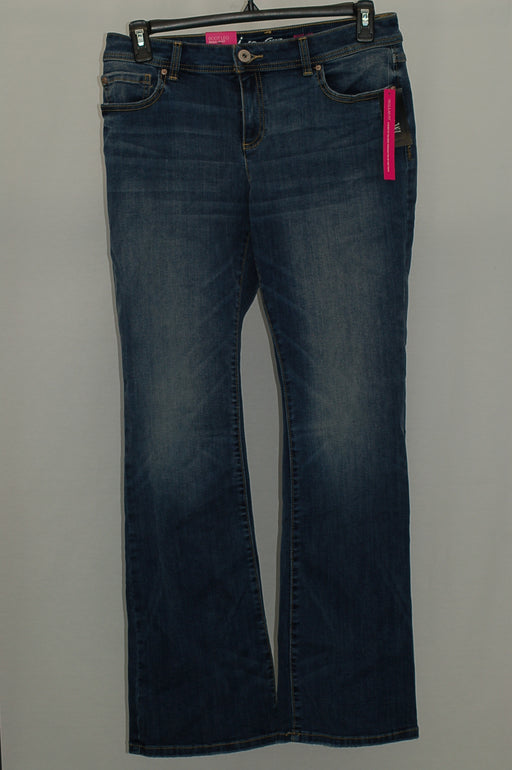 INC International Concepts 5-Pocket Bootcut Jeans Graceful Wash 12