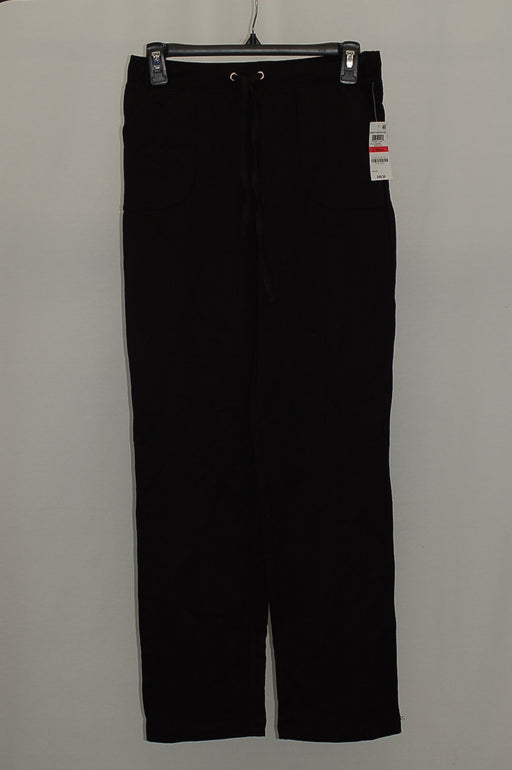 Karen Scott French Terry Active Pants Deep Black PL