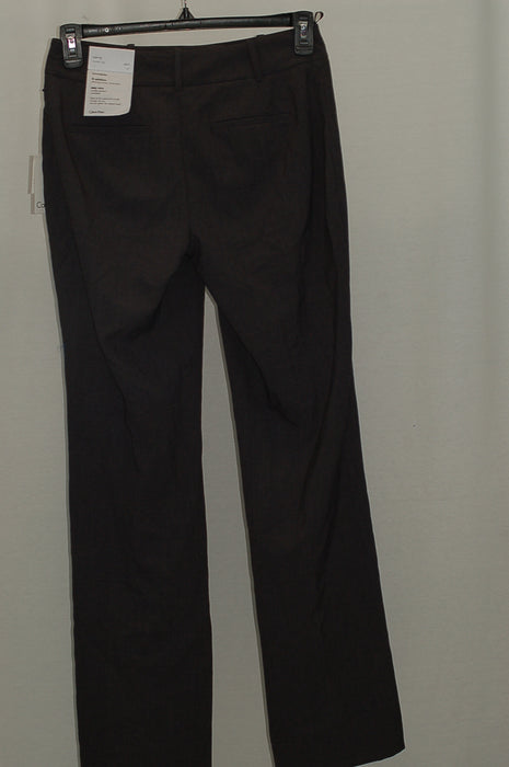 Calvin Klein Double-Button Slim Trousers Charcoal 2