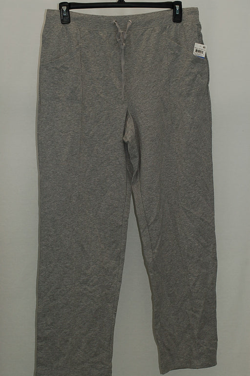 Karen Scott French Terry Active Pants Smoke Grey XL