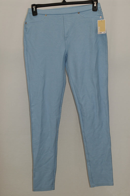 Michael Kors Stretch Twill Leggings Cloud M