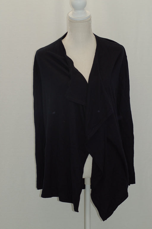 Michael Kors Petite Open-Front Draped Cardigan New Navy PL