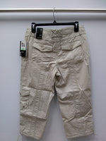 Style Co Cargo Capri Pants Stone Wall 6