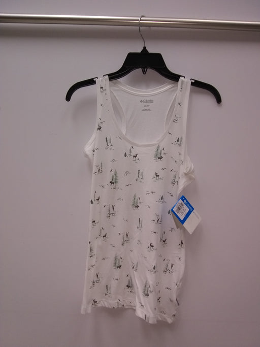 Columbia Down the Path Printed Tank White XS