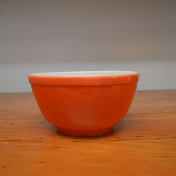 Vintage red Pyrex bowl nesting mixing bowl primary color – Ma and ...