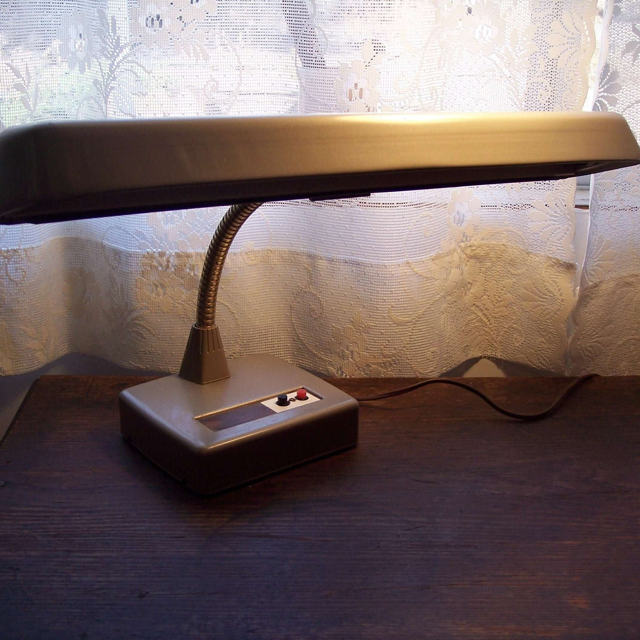 Image of: Vintage Desk Lamp Industrial Mid Century Modern Ma And Pa S Attic