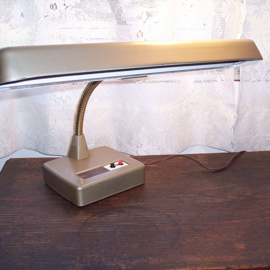 Vintage Desk Lamp Industrial Mid Century Modern Ma And Pa S Attic