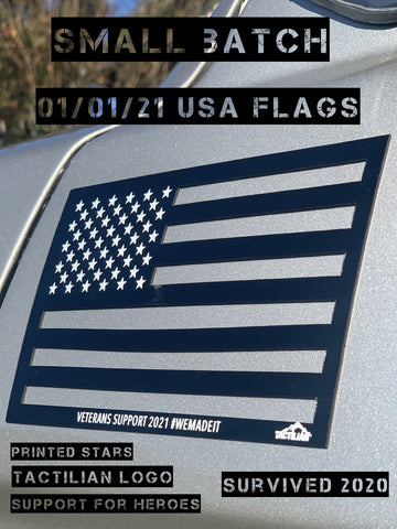 New Years Day Support Flags