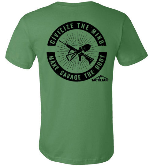 Civilize the Mind Unisex T-Shirt