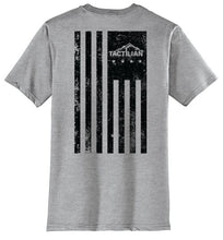 Short Sleeve Distressed Tactilian American Flag T-Shirt