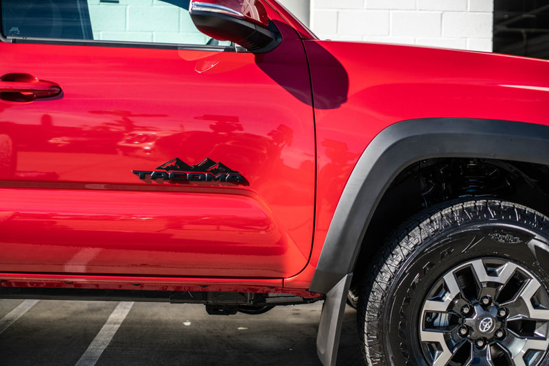 Toyota Tacoma Badge Mountain Range Magnet (2016+)