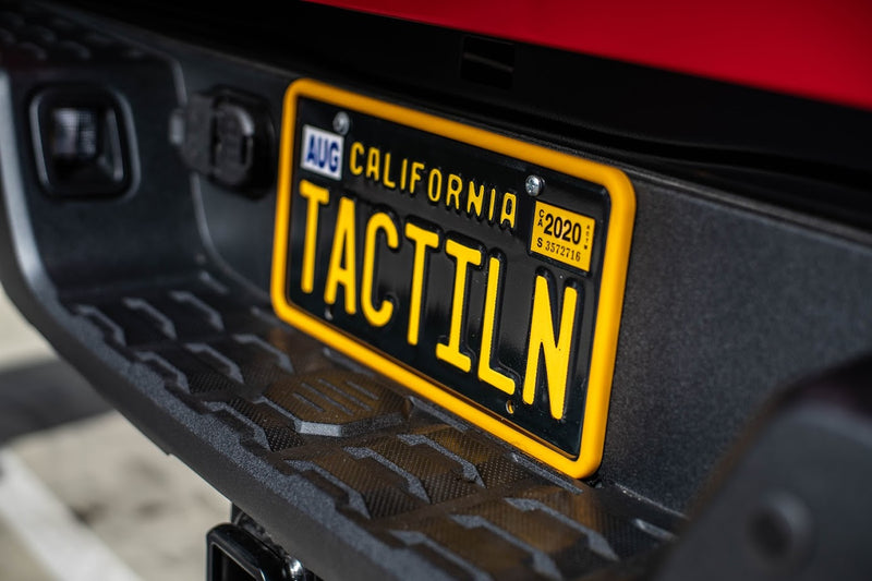 Silicone Anti-Rattle, Anti-Scratch License Plate Holder