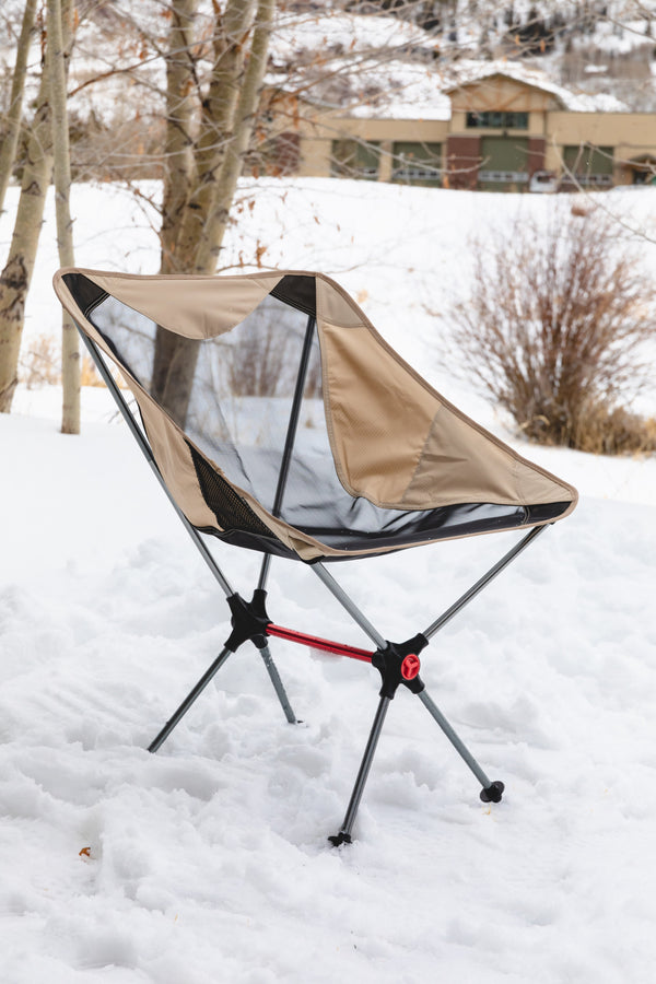 The Take-Anywhere Folding Camping Chair