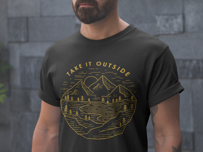 Overland camping take it outside shirt
