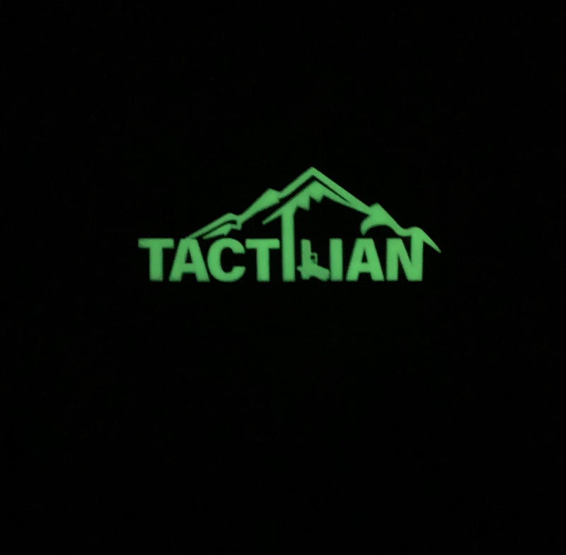 tactilian glow in the dark pvc patch